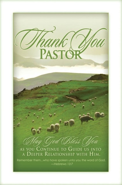 Celebrate Pastor Appreciation Month – Christian Church in ...