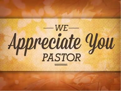 Celebrate Pastor Appreciation Month - Christian Church in ...