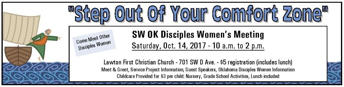 Southwest Oklahoma Women's Meeting October 14, 2017 ...