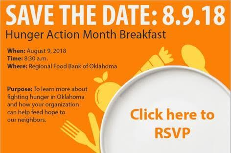 August 9 2018 Regional Food Banks Hunger Action Month Breakfast