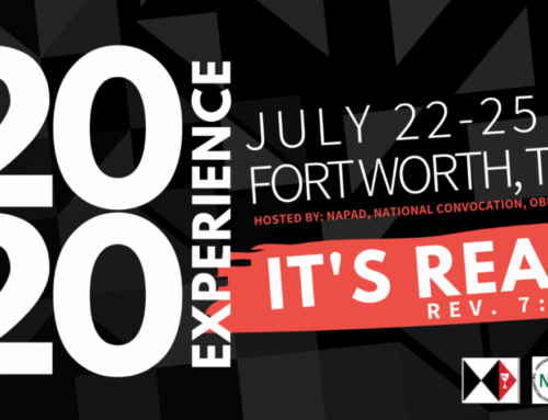 2020 Experience – It's Real! July 22 – 25, 2020 in Ft Worth, TX